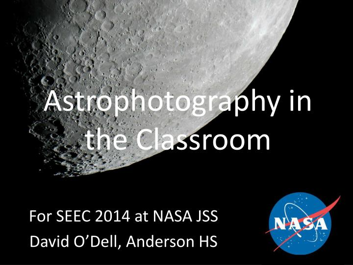 astrophotography in the classroom n.