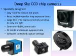 deep sky ccd chip cameras