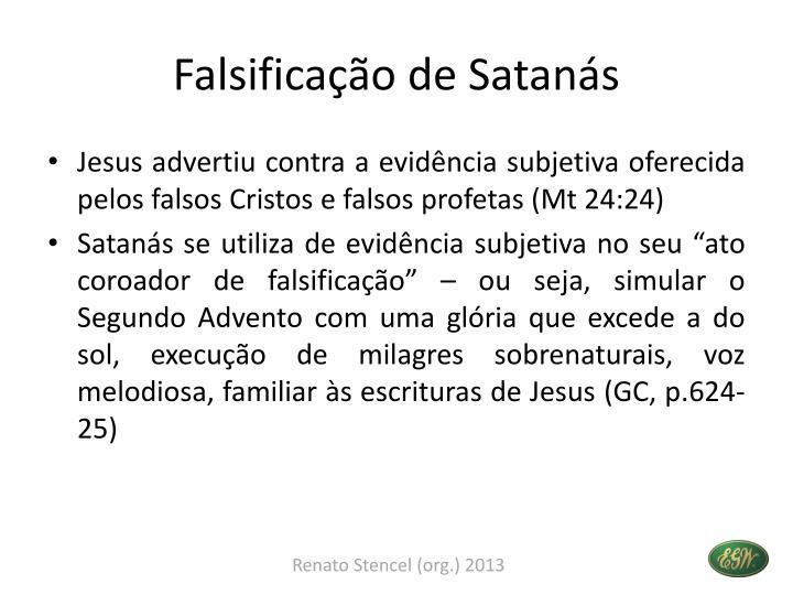 Falsificação de Satanás