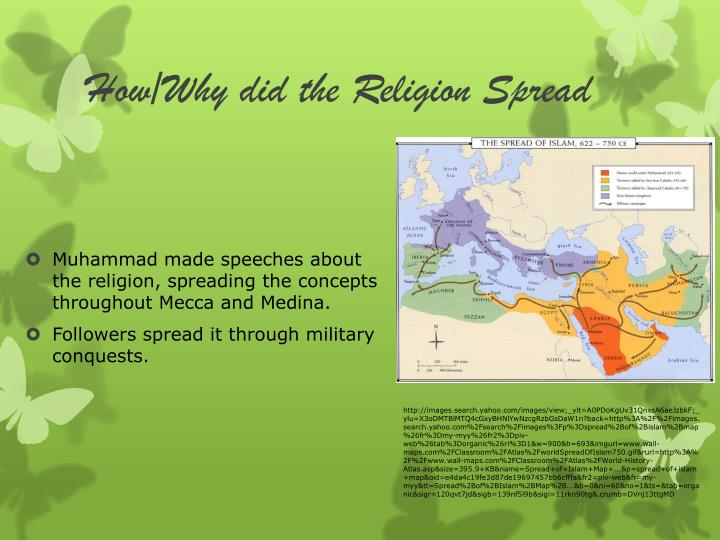 How/Why did the Religion Spread