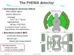 the phenix detector