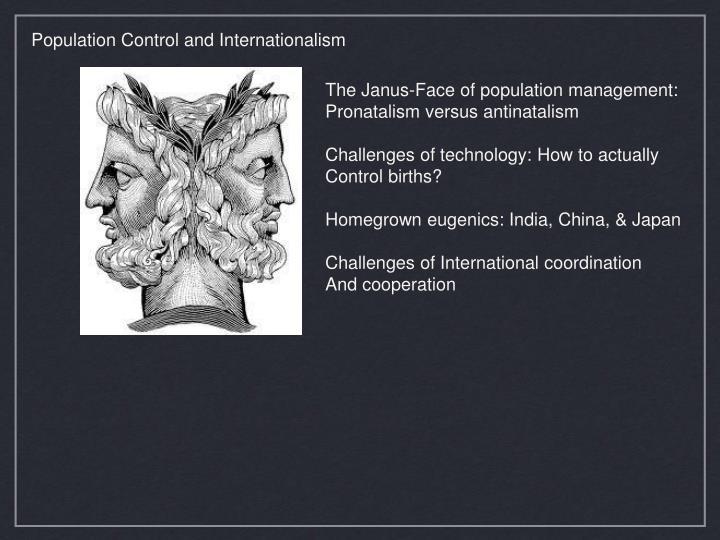 Population Control and Internationalism