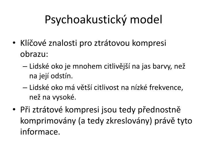 Psychoakustický