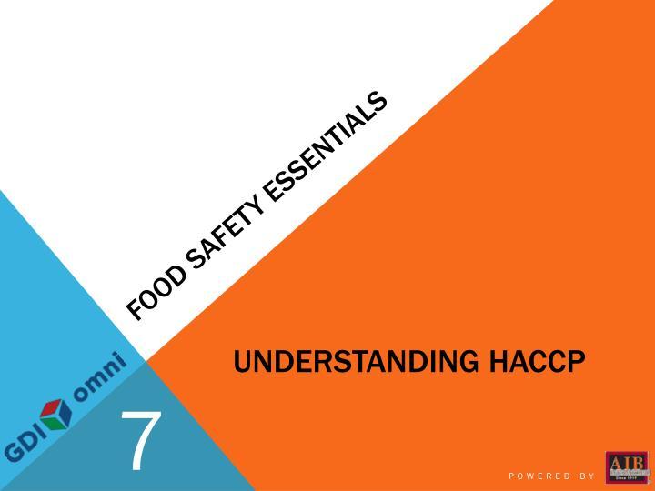 Food safety essentials