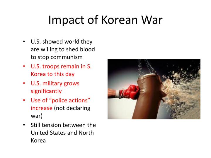 Impact of Korean War