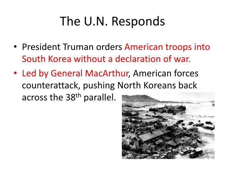 The U.N. Responds