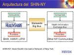 arquitectura del shin ny