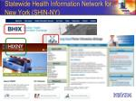 statewide health information network for new york shin ny