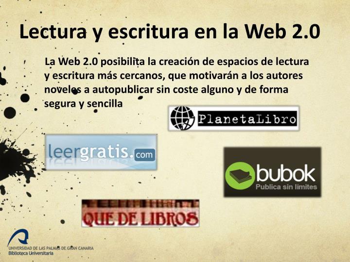 Lectura y escritura en la Web 2.0