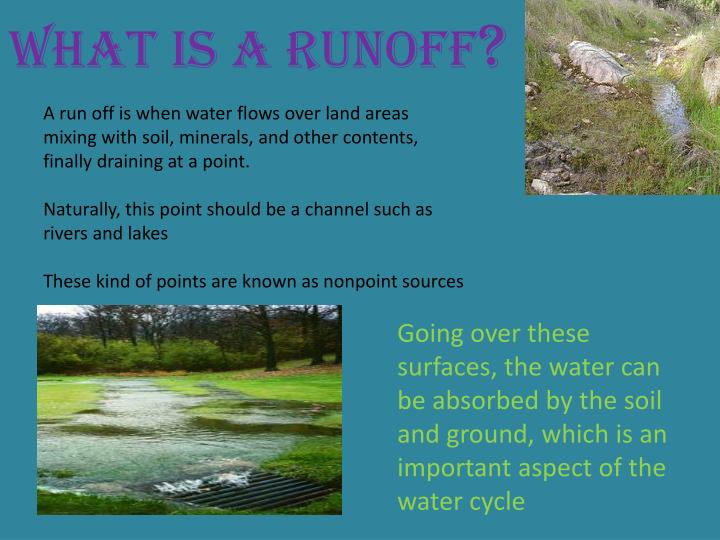 What is a runoff