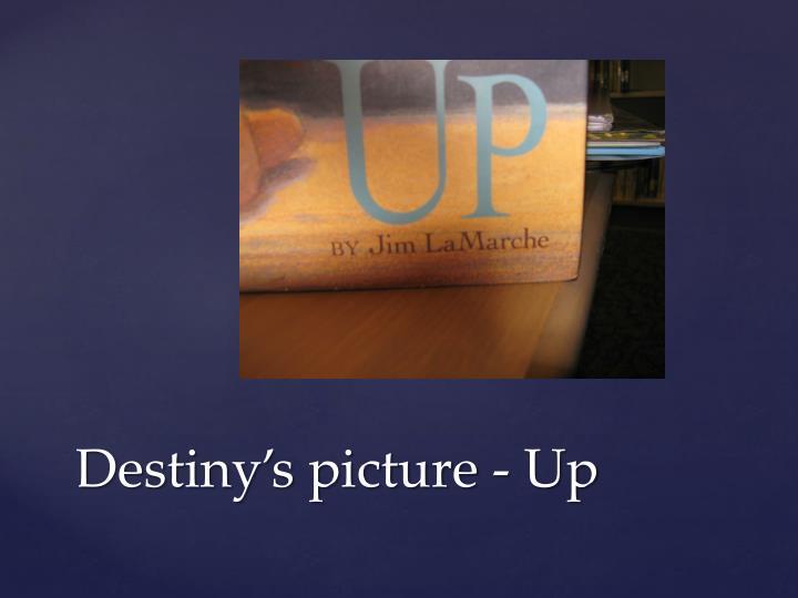 Destiny's picture - Up