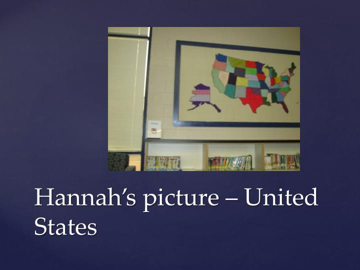 Hannah's picture – United States