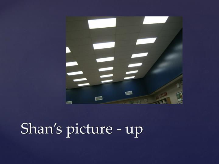 Shan's picture - up