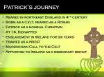 patrick s journey