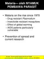 malaria oleh nyamuk pembawa parasit1
