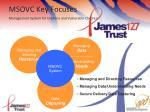 msovc key focuses management system for orphans and vulnerable children