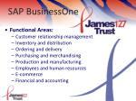sap businessone