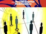 social capital mobilisation