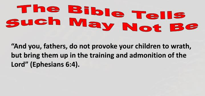 The Bible Tells