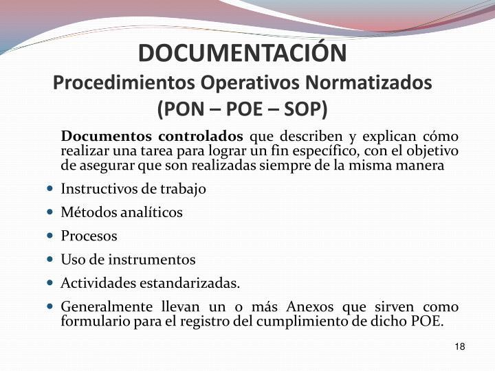 Documentos controlados
