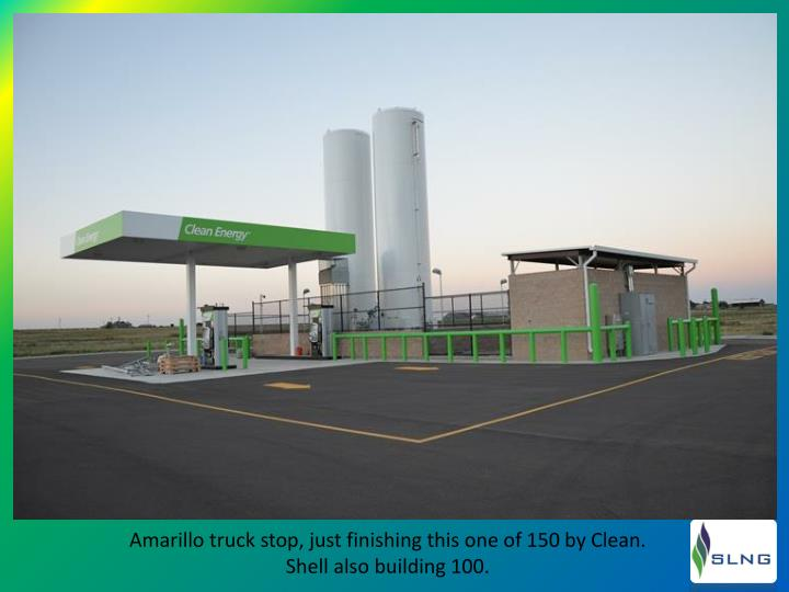 Amarillo truck stop, just finishing this one of 150 by Clean.