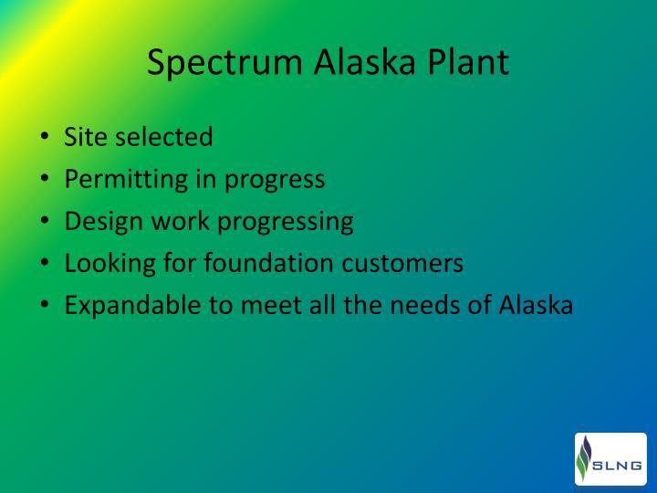 Spectrum Alaska Plant