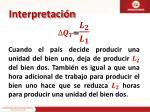 interpretaci n