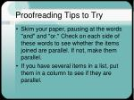 proofreading tips to try