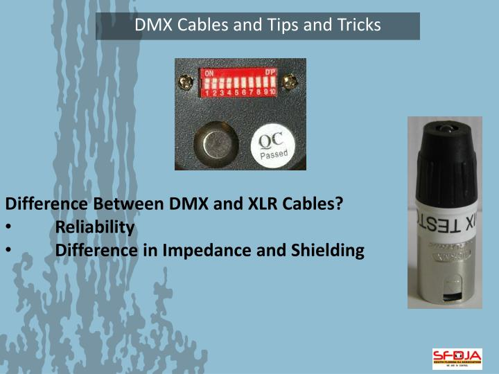 Difference Between DMX and XLR Cables?