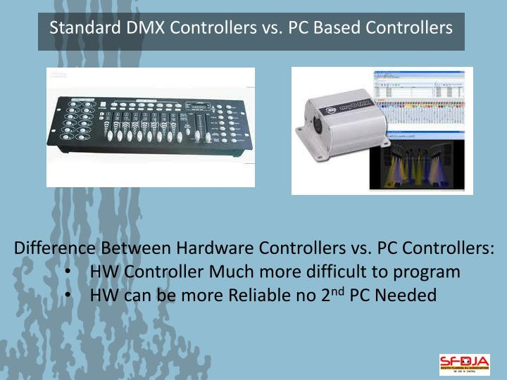 Difference Between Hardware Controllers vs. PC Controllers: