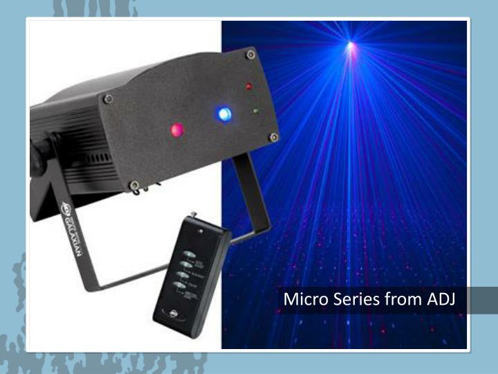 Micro Series from ADJ