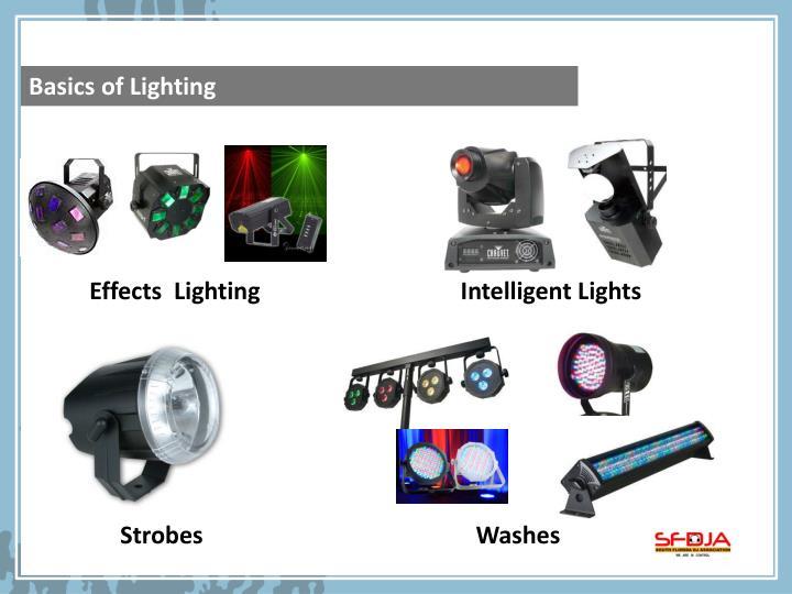 Basics of Lighting