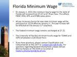 florida minimum wage