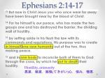 ephesians 2 14 17