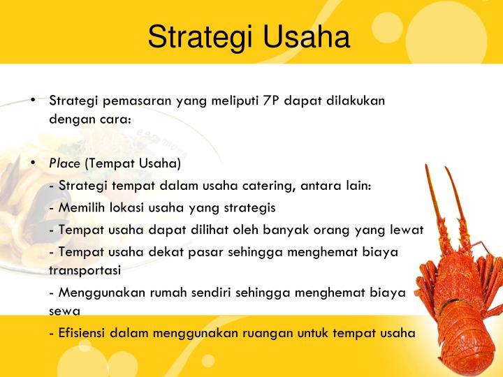 Strategi Usaha
