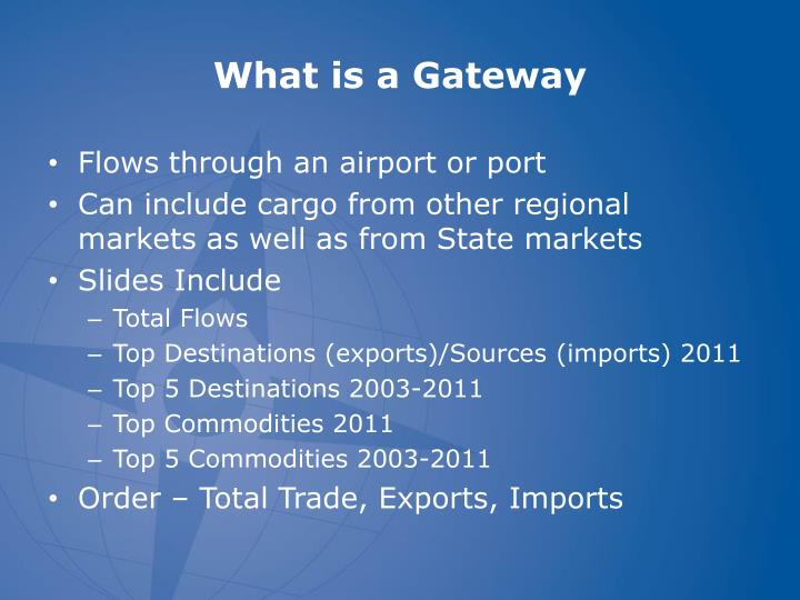 What is a gateway