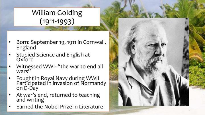 William golding 1911 1993