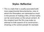 styles reflective