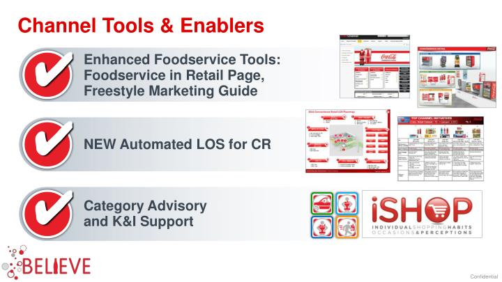 Channel Tools & Enablers