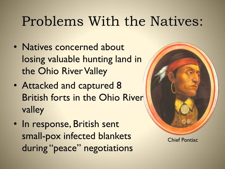 Problems With the Natives: