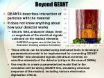 beyond geant