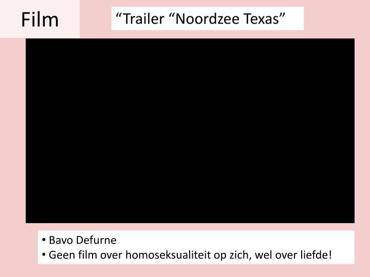 """""""Trailer """"Noordzee"""