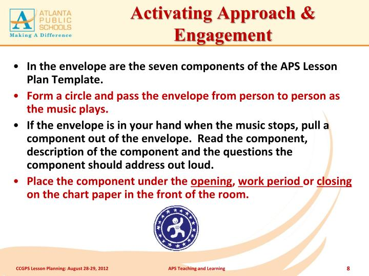 Activating Approach & Engagement
