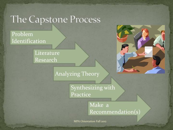 The Capstone Process