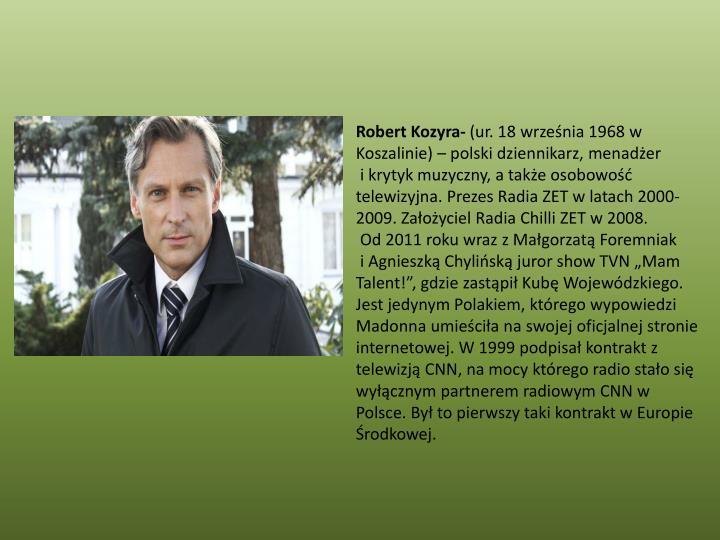 Robert Kozyra-