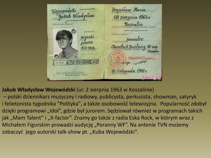 Jakub Władysław Wojewódzki