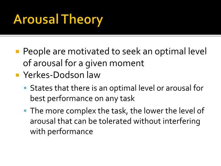 Arousal Theory