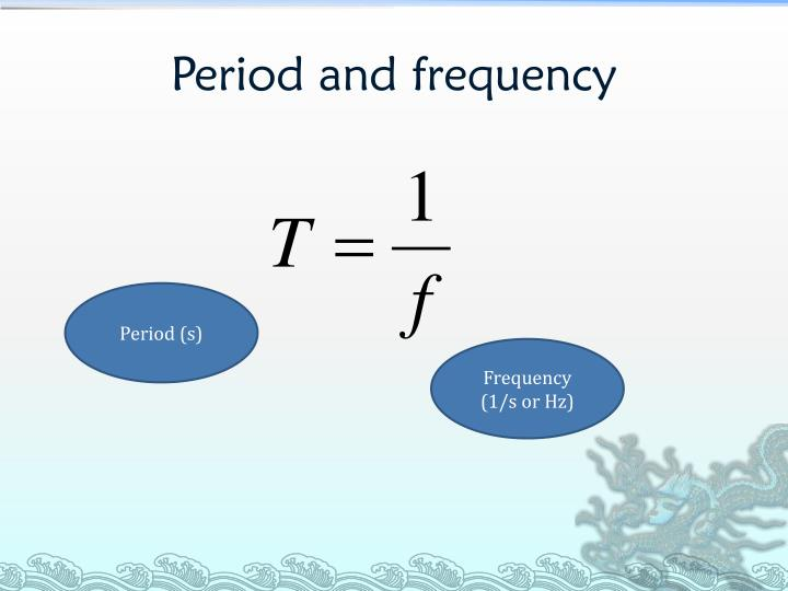 Period and frequency