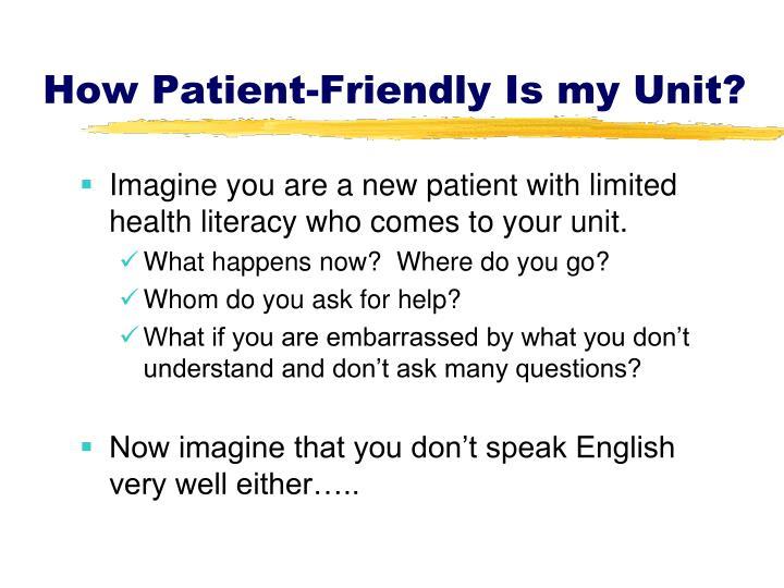How Patient-