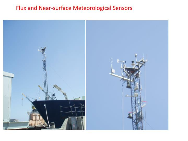 Flux and Near-surface Meteorological Sensors